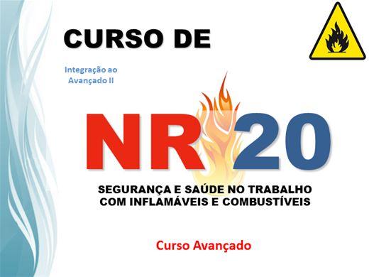 Curso Online de NR20 - SST COM INFLAMÁVEIS E COMBUSTÍVEIS - Avançado