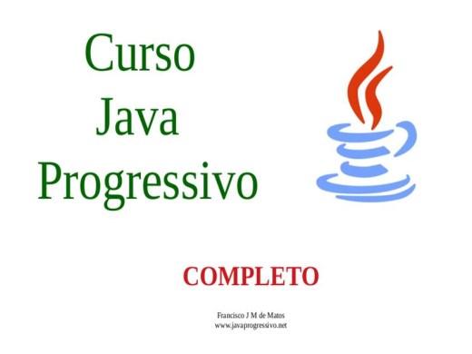 Curso Online de Java Progressivo