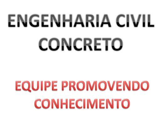 Curso Online de ENGENHARIA CIVIL : CONCRETO