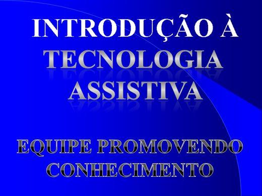 Curso Online de INTRODUÇÃO À TECNOLOGIA ASSISTIVA