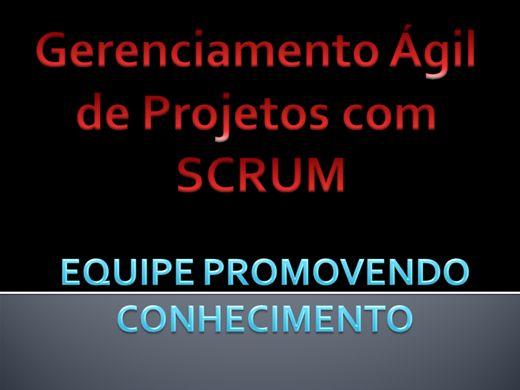 Curso Online de GERENCIAMENTO ÁGIL DE PROJETOS COM SCRUM