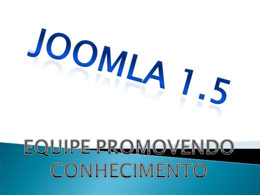 Curso Online de JOOMLA 1.5