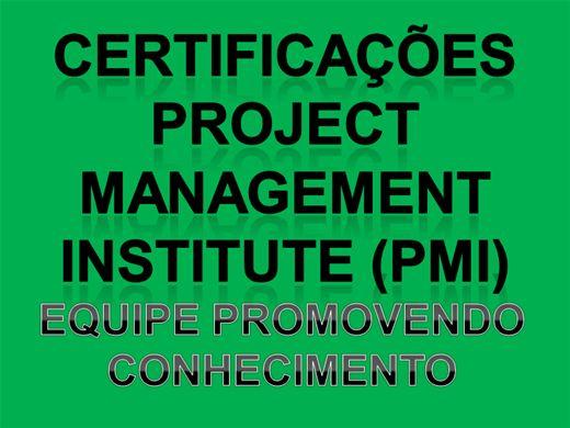 Curso Online de INTRODUÇÃO AO PROJECT MANAGEMENT INSTITUTE