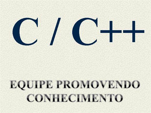 Curso Online de C / C++