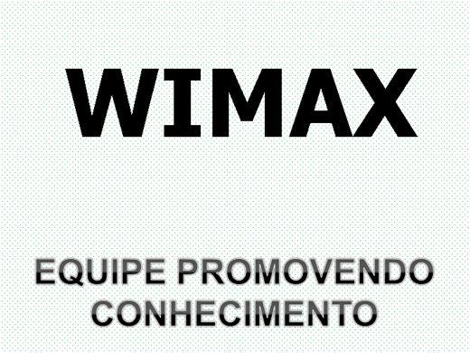 Curso Online de WIMAX