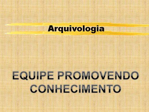 Curso Online de Arquivologia