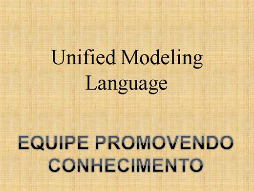 Curso Online de Unified Modeling Language
