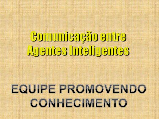 Curso Online de COMUNICAÇÃO ENTRE AGENTES INTELIGENTES