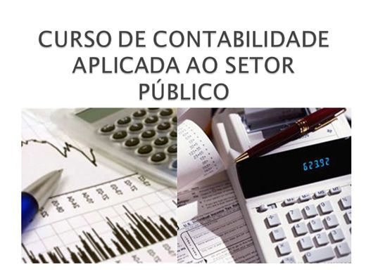 Curso Online de Contabilidade Aplicada Para o Setor Público