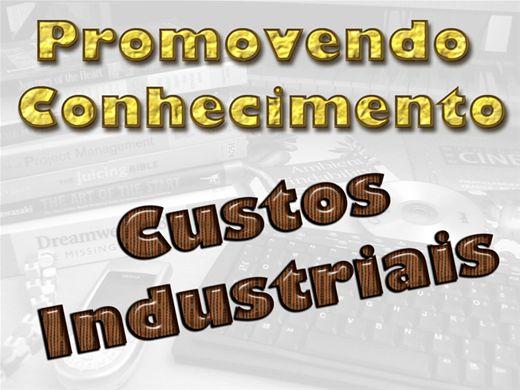 Curso Online de CUSTOS INDÚSTRIAIS