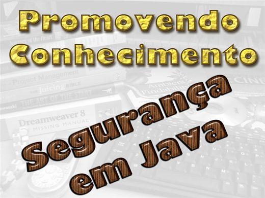 Curso Online de SEGURANÇA EM JAVA