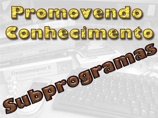 Curso Online de SUBPROGRAMAS