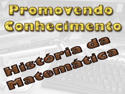 Curso Online de História da Matemática