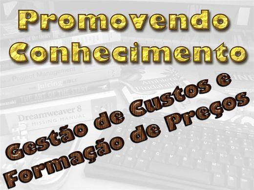 Curso Online de GESTÃO DE CUSTOS E FORMAÇÃO DE PREÇOS