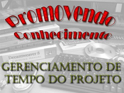 Curso Online de GERENCIAMENTO DE TEMPO DO PROJETO