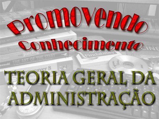 Curso Online de TEORIA GERAL DA ADMINISTRAÇÃO