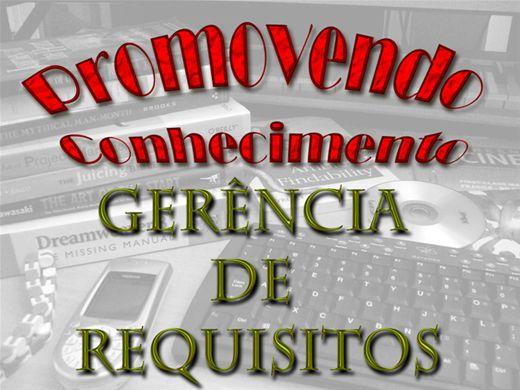 Curso Online de GERÊNCIA DE REQUISITOS