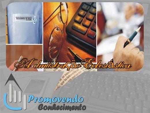 Curso Online de ADMINISTRAÇÃO ECLESIÁSTICA