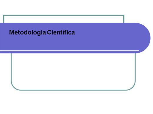 Curso Online de Introdução a Metodologia Científica