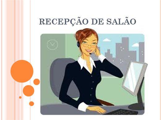 Curso Online de RECEPÇÃO DE SALÃO