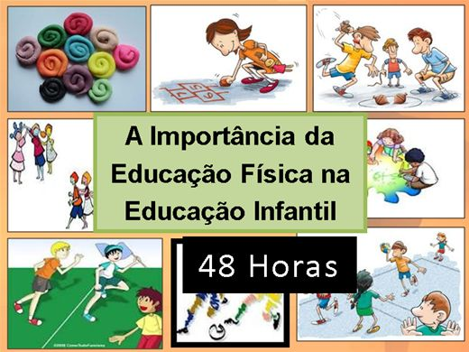 Curso Online de A Importância da Educação Física na Educação Infantil