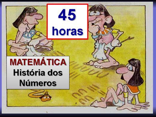 Curso Online de MATEMÁTICA - História dos Números