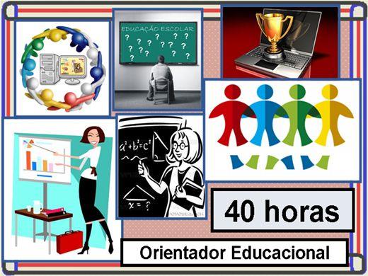 Curso Online de Orientador Educacional