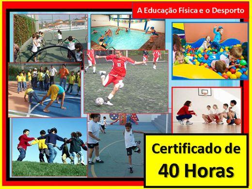 Curso Online de A Educação Física e o Desporto