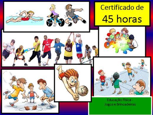 Famosos Curso Online de Educação Física - Jogos e Brincadeiras | Buzzero.com XS61