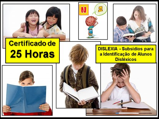 Curso Online de DISLEXIA - Subsídios para a Identificação de Alunos Disléxicos