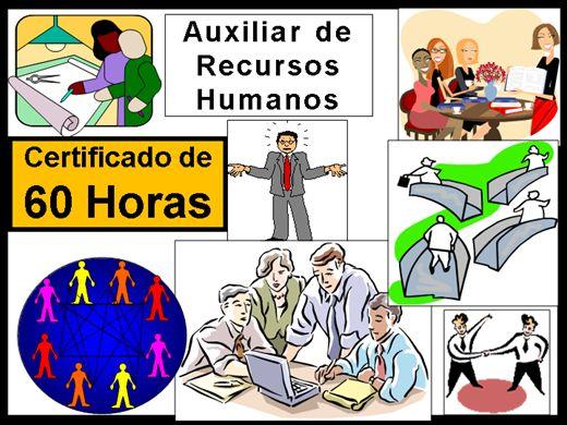 Curso Online de Auxiliar de Recursos Humanos