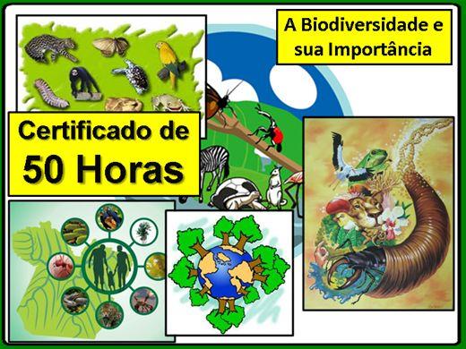 Curso Online de A Biodiversidade e sua Importância