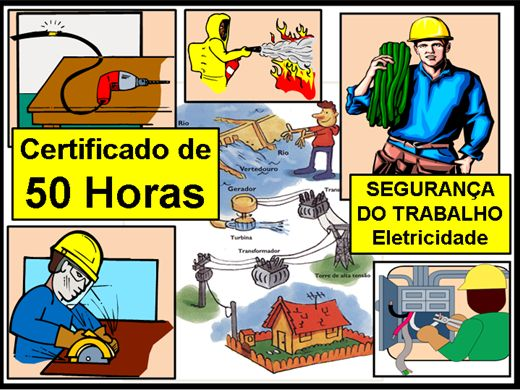 Curso Online de SEGURANÇA DO TRABALHO - Eletricidade