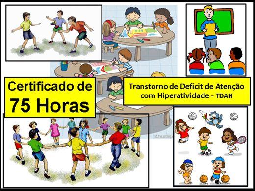 Curso Online de Transtorno de Deficit de Atenção com Hiperatividade - TDAH