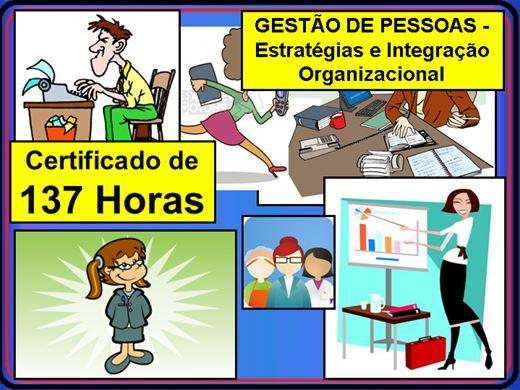 Curso Online de GESTÃO DE PESSOAS - Estratégias e Integração Organizacional