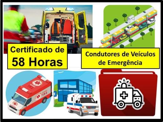 Curso Online de Condutores de Veículos de Emergência