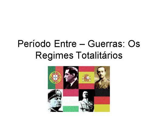 Curso Online de Regimes Totalitarios na Europa