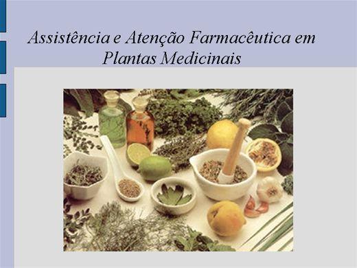 Curso Online de Assistência e Atenção Farmacêutica em Plantas Medicinais