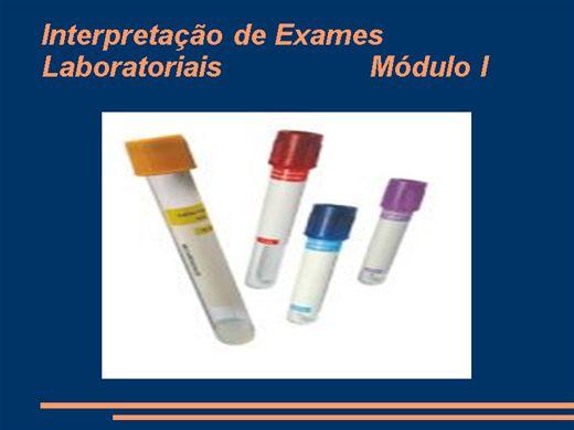 Curso Online de Interpretação de Exames Laboratoriais
