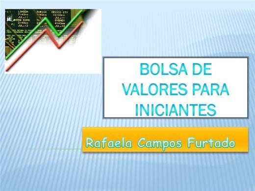 Curso Online de BOLSA DE VALORES PARA INICIANTES