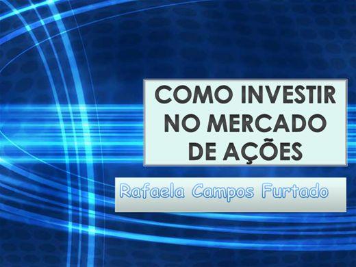Curso Online de COMO INVESTIR NO MERCADO DE AÇÕES