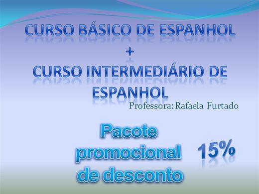Curso Online de Curso de Espanhol Básico + Intermediário