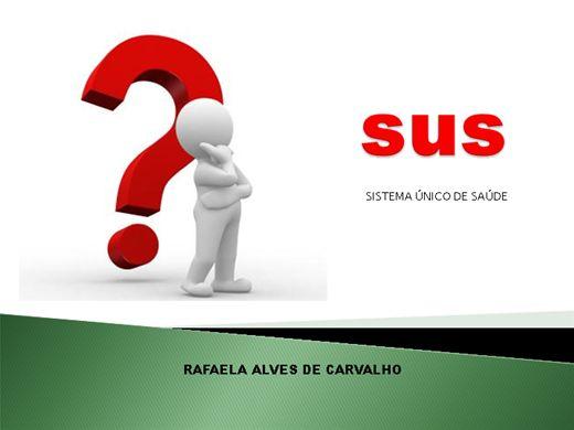 Curso Online de SUS - SISTEMA ÚNICO DE SAÚDE