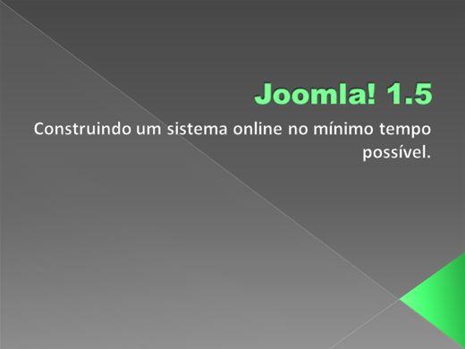 Curso Online de Curso De Joomla 1.5