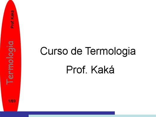 Curso Online de curso de termologia