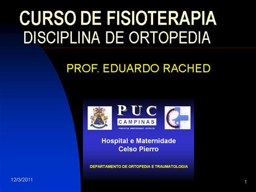 Curso Online de Curso de Fisioterapia
