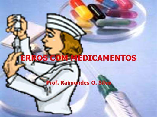 Curso Online de ERROS COM MEDICAMENTOS