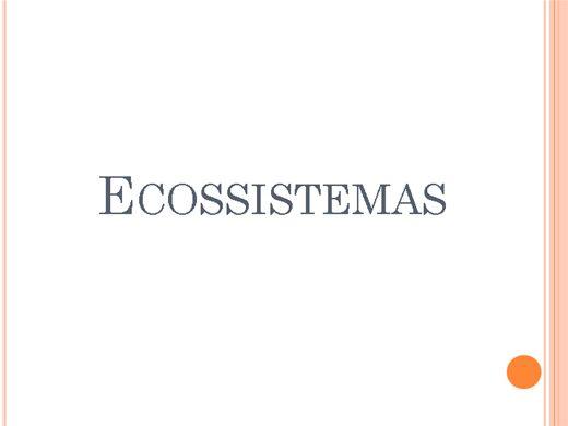 Curso Online de ECOSSISTEMA