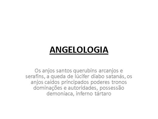 Curso Online de Angeologia