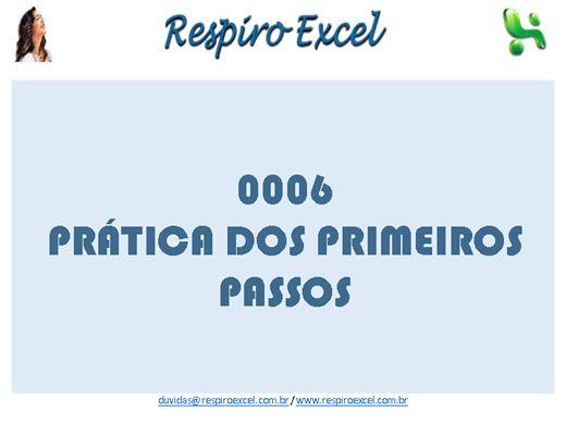 Curso Online de A002 - Excel - Prática dos Primeiros Passos